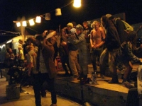 Saturday Night at The Range, Slab City