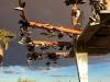 Shoe Fence roadside attraction near Rice, CA