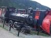 Old Trains in Skagway, Alaska