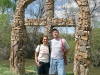 Finding faith riverside at El Santuario de Chimayo in New Mexico