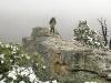 Rene Climbing the Edge of Black Canyon National Park