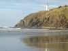 North Head lighthouse beach reflection at Cape Disappointment