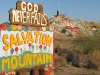 Repent at Salvation Mountain in Slab City