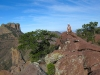 Rene hikes to View Casa Grande in Big Bend