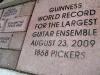 Luckenbach Texas Guitar Pickers World Record