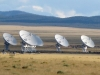 VLA Dishes pointed at Very Large Array in New Mexico