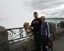 Overlooking Niagara Falls in Canada