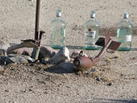 Unexploded Ordnance at Slab City Library
