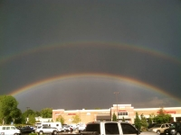 Armageddon Rainbow over King Soopers