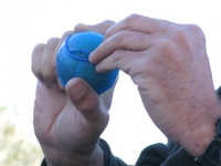 Smuggling Juggling Tennis Balls
