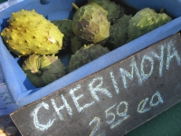 Fresh Cherimoya at Borrego Springs Farmers Market