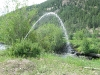 Perks Pisser returns water to the Lake Fork of the Gunnison River