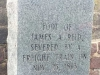 James Reid Severed Foot Grave Salisbury N. Carolina
