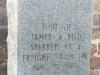 James Reid Severed Foot Grave Salisbury N. Carolina