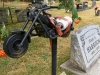 Nelson, BC Cemetery Motorcyclist  Grave Marker