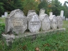 Revolutionary Graves in old cemetery, New Hampshire