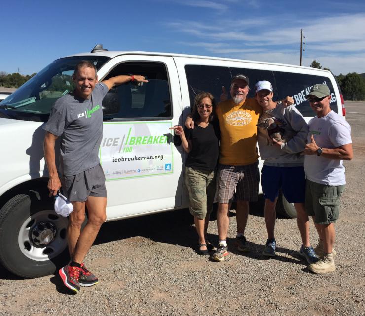 Team Ice Breakers mental health runners