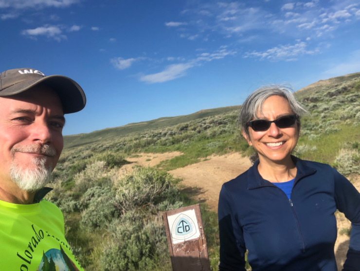 running the Continental Divide Trail