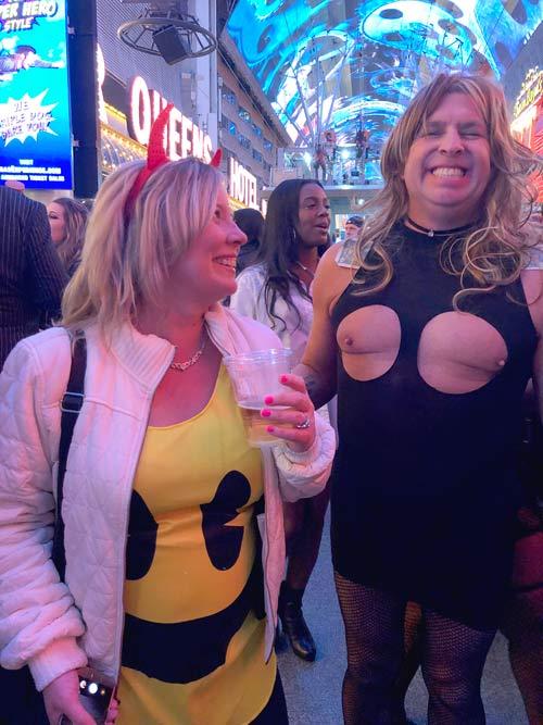 Fremont Street Halloween