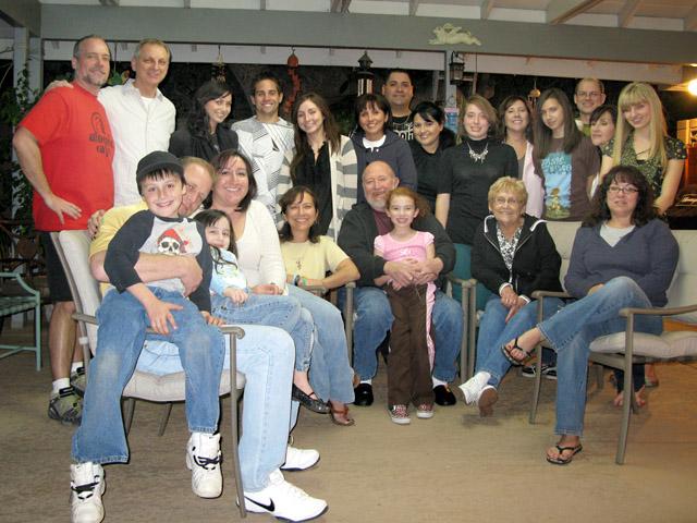 La Familia Agredano en Los Angeles