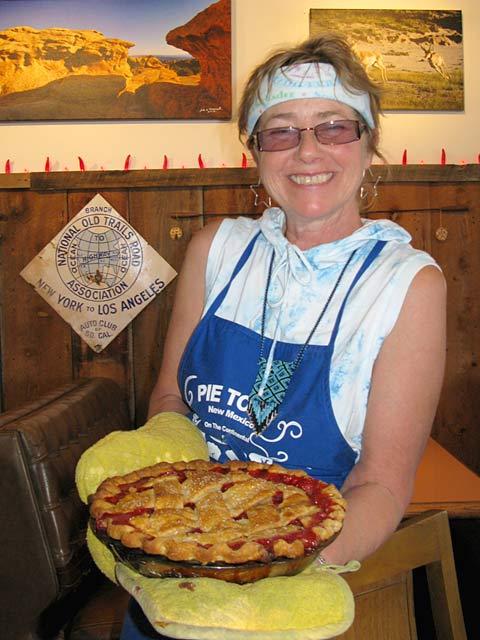 Kathy Knapp PieONeer Cafe