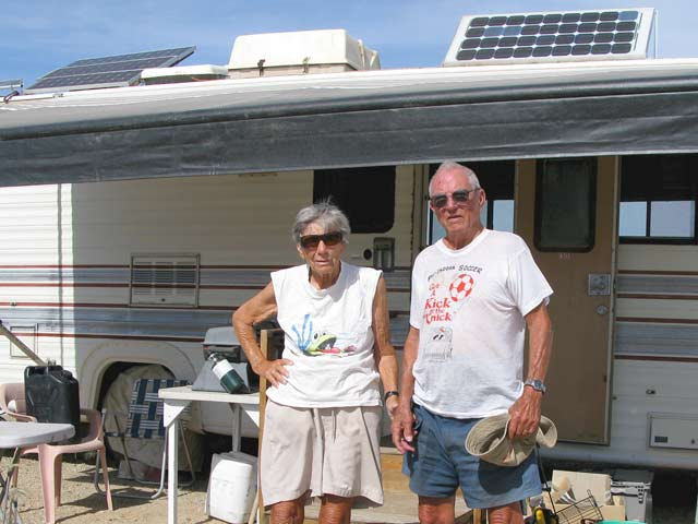 RV park site rent pros cons