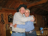 Larry and Paulette love the Ranch  life