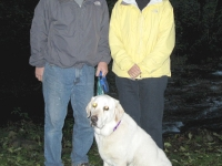 The Workamping Cramers - Jim, Mary and Barley