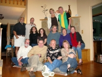 Friends of Jim and Rene at the Crawfords in Eureka