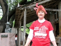 Luckenbach Festival Ugly Hat Contestant