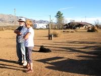 Bayfield Bunch Kelly and Al at Arizona House Caretaking Job