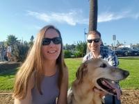 Maya Ryan and Tahoe
