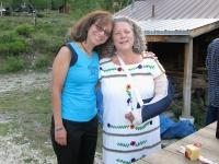 Carla wishes Rene a Happy Birthday