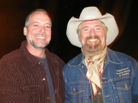 Jim meets Michael Martin Murphy at Lake City concert