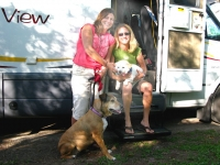 Fulltime RVers Lori and Heather