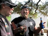 Brotherhood having a good time at Luckenbach