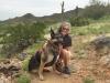 Wyatt and Rene at Casa Grande, Arizona Boondocking Spot