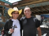 Rene and Chimayo Chile Man Carlos Medina
