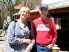 Kim and Sam in Bisbee, AZ