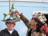 Slab City Mad Hatter Potluck Partygoers