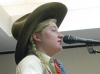 Kristyn Harris at 2012 Texas Cowboy Poetry Gathering