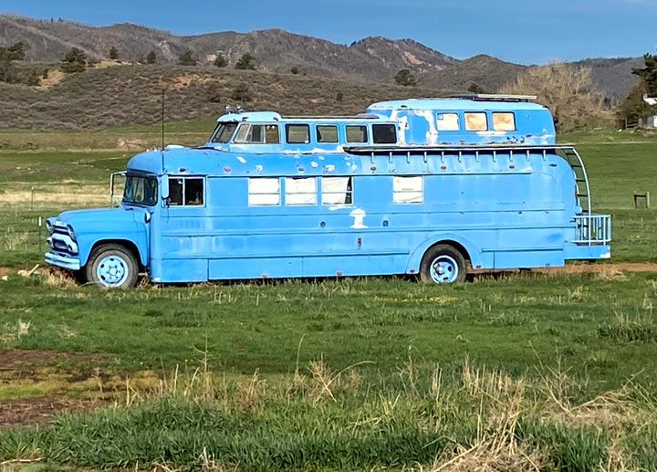 old bus conversion