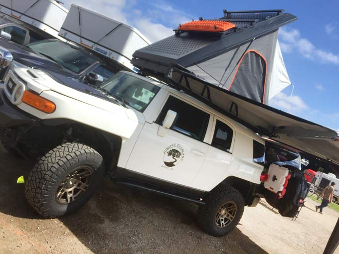 Toyota Tent Camper