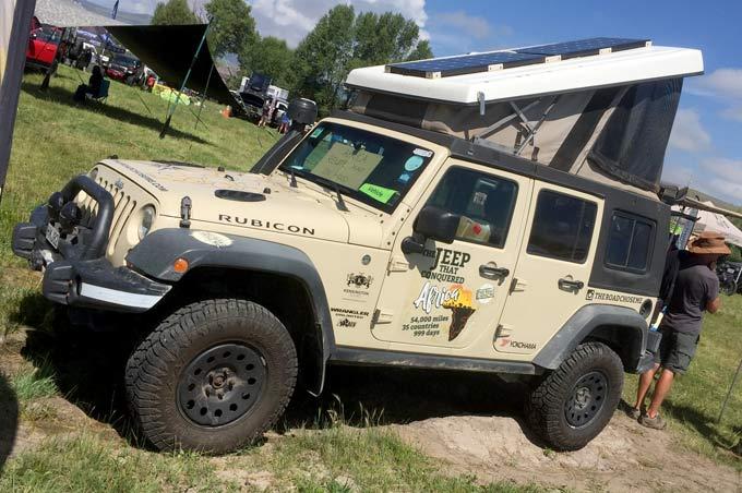 Overland Africa Jeep