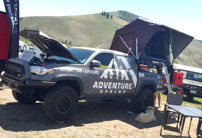 Overland Truck Tent Camper