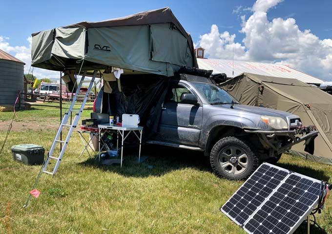 Truck Tent Overlander