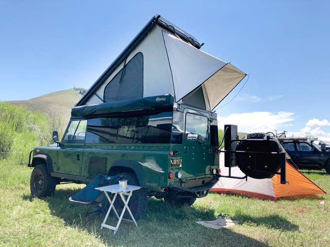Overlander Truck Tent