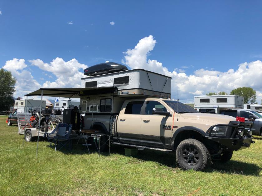 Overland Dodge RAM camper