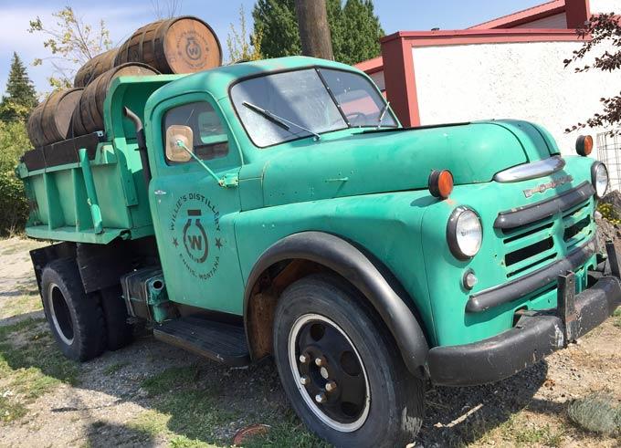 Old Dodge Dump Truck