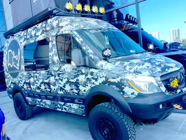 SEMA Sprinter Van